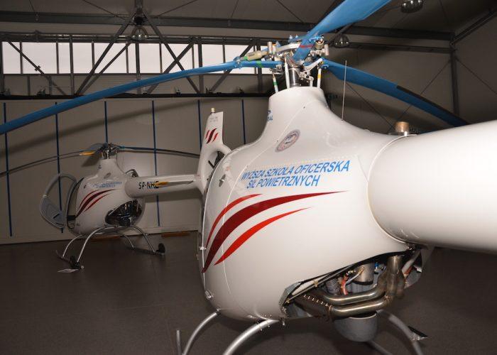 oklejanie helikopterów